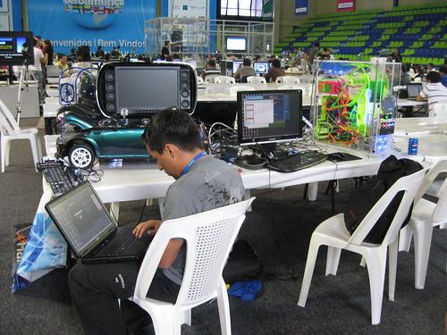 Un geek Colombiano en accion