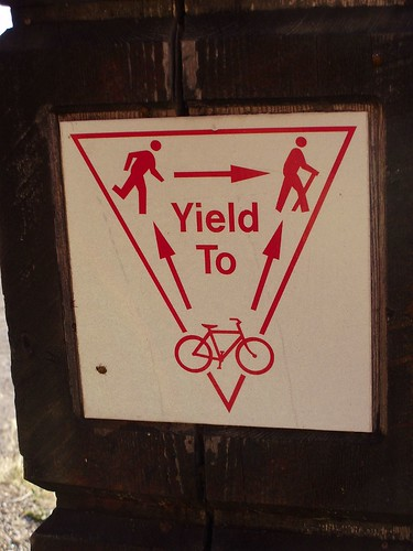 Yield to...