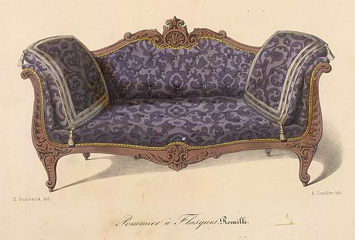 014-Sofa estilo Renacimiento Rococo