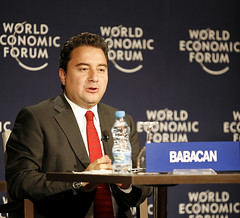 Ali Babacan - World Economic Forum Turkey 2008