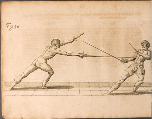 Fecht-kunst - Nicoletto Giganti, 1622 e