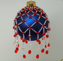 Red, White and Blue Ornament