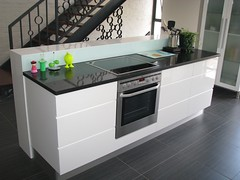 Dunkley House - kitchen island unit