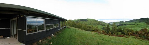 A house with a view in the King Country, New Zealand