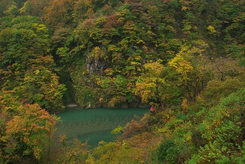20081103147黒部峡谷お地蔵さん岩