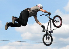 100 Things to see at the fair #90: Stunt Bike