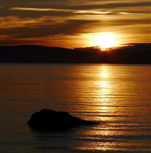 03Nov08 seamill sunset