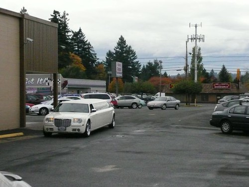 Limo at fabric depot