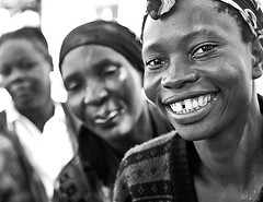 Zambia Women (globalaidsalliance) Tags: africa woman smile face smiling scarf women village faces outdoor teeth headscarf joy smiles warmth sunny health friendly daytime joyful zambia township global hivaids welcoming advocacy