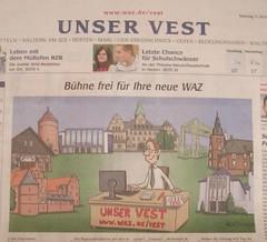 """WAZ """"Unser Vest"""": Bühne frei für Ihre neue WAZ"""