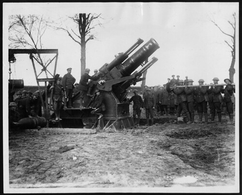 world war 1. Howitzer, during World War I
