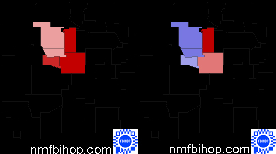 New Mexico's 1st Congressional District in 2004 and 2008