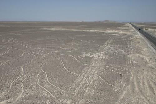 Nazca geoglyphs.