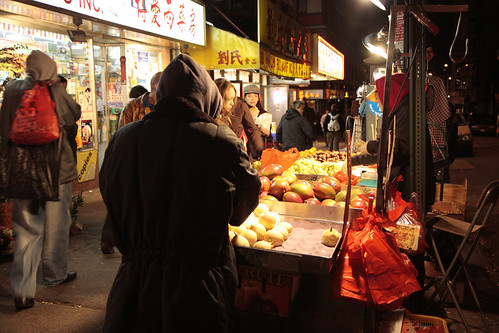 Chinatown new york night 1