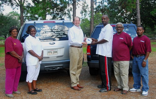 Excellence Janitorial joins Chamber 10-08