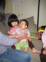 Aki likes Julia and her mom