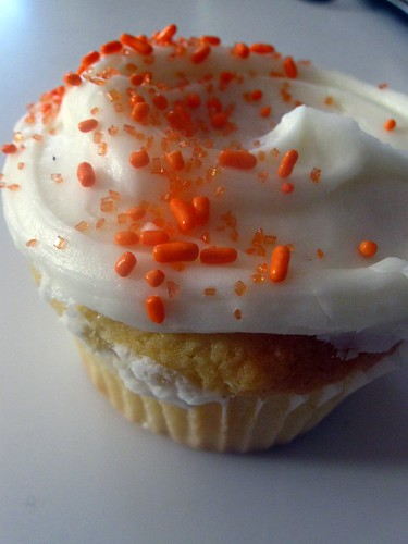 Orange Cream Cheese Cupcake