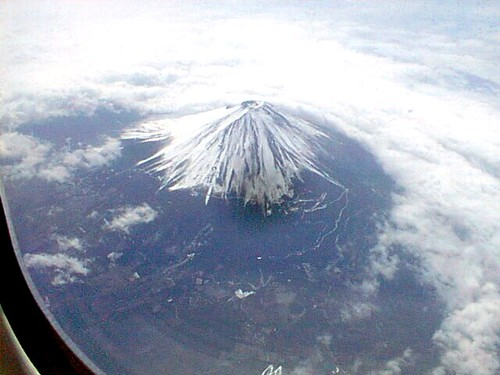 airfuji05 Mount Fuji from Japan Airlines Flight 2000