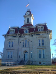 Courthouse in Cottonwood Falls, Kansas
