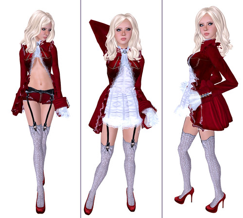 Bare Rose - Red Mist outfit by you.