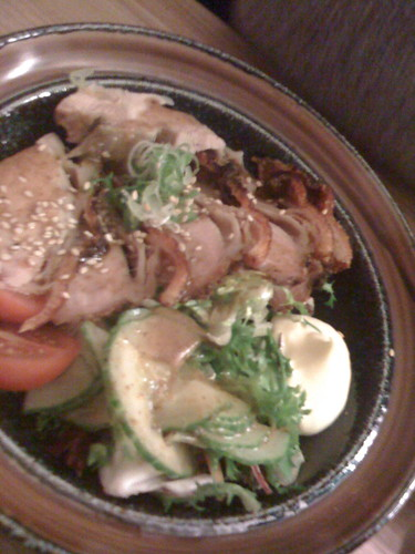 cha-shu salad