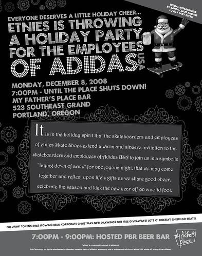 Adidas Etnies Party