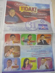 Seriously need better Art Director (enda_001) Tags: ads ad partai koran printad iklan demokrat