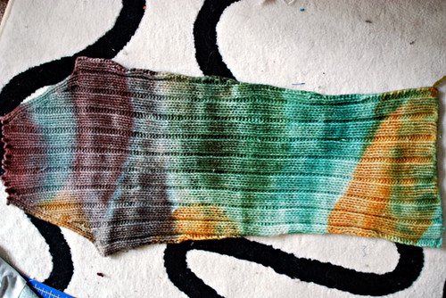 sleeve dyed for beret