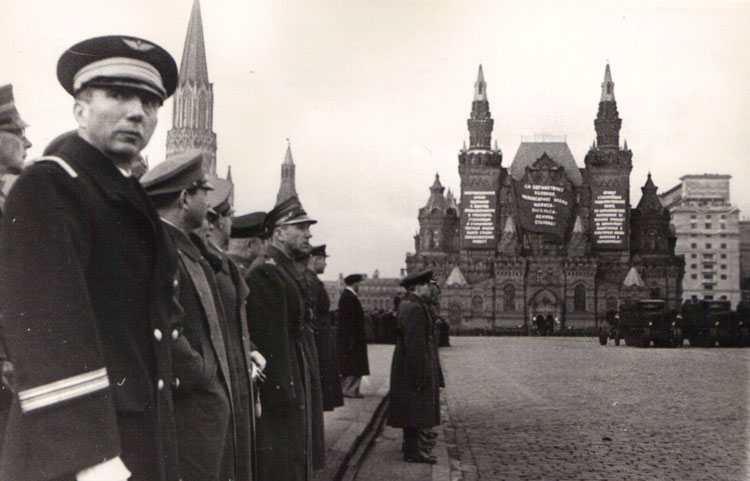 Москва 1938. Фотограф Б.Вдовенко