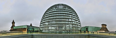 Cpula del Bundestag, Berln (D) (Panoramyx) Tags: panorama berlin germany deutschland reichstag normanfoster panoramica dome alemania allemagne germania berlijn berlino berln cpula