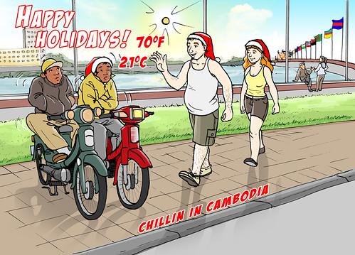 Chillin' In Cambodia