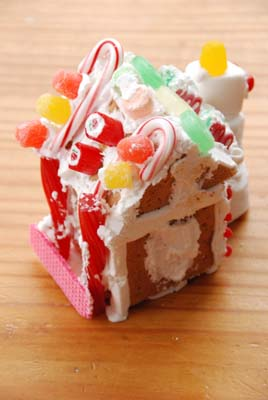 logans gingerbread house