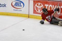 Sledge Hockey @ the MTS Centre (brad.cressman) Tags: hockey mts sledge winnipegsledge