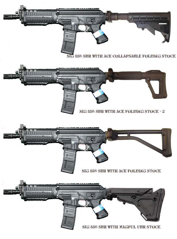 Most Design Ideas Sig 556 Folding Stock Adapter Pictures