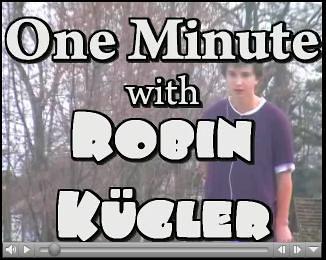 One Minute with Robin Kügler von Ihnen.