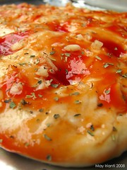 Garlic, Herbs & Tomato Paste Focaccia