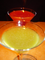 Apple and Pomegranate Martinis