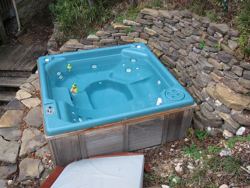 Finished Hot Tub