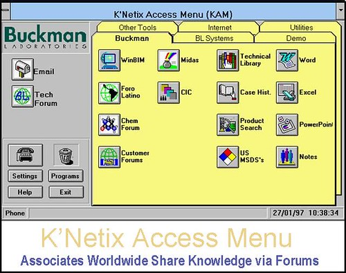 history of buckman laboratories knowledge and information technology company 5 what criteria do you see for a company adopting knowledge management 3  request 'explicit' knowledge explicit knowledge base 5 % information feedback  &ndash a free powerpoint ppt presentation (displayed as a flash slide show) on powershowcom - id: 26d4f0-zmi4y.