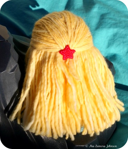 blond hair (malabrigo)