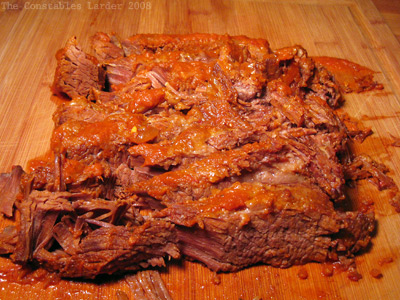brisket braised in white wine