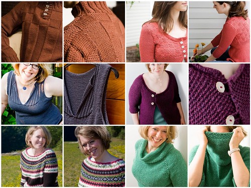 2008 Knits:  Sweaters