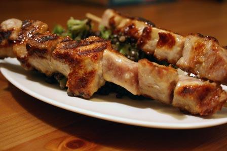 Miso-glazed Tuna Kebabs | The Kitchen Illiterate