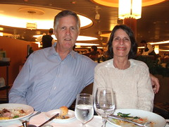 Mike and Lisa at 1st Dinner