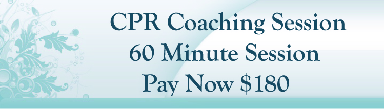 CPR Coaching Session Buy Now 60 Minutes $180