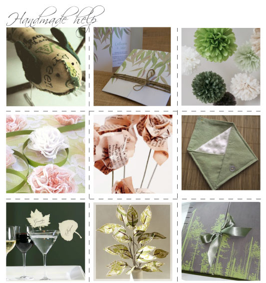 bush themed wedding here are a few handmade goodies to help you out