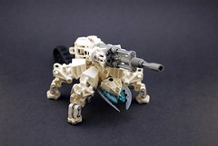 Quick Build: Anti-vehicle Battle Bug ([Dablackcat]) Tags: lego walker qb bionicle gunner quickbuild battlebugs