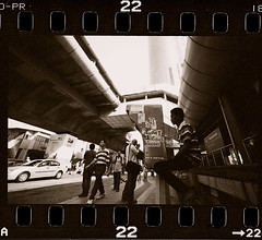 Confluence - Lebuh Ampang series (khai_nomore) Tags: street urban bw film 35mm negative scanned kualalumpur rf rm 2400dpi colourmodescan homedevelopment canonscan8400f autaut voigtlanderr3m voigtlandersuperwideheliar15mmf45courtesyofkupih fujifilmsuperneopan1600courtesyofhiro kodaktmax14th412min ilfordrapidfix146min
