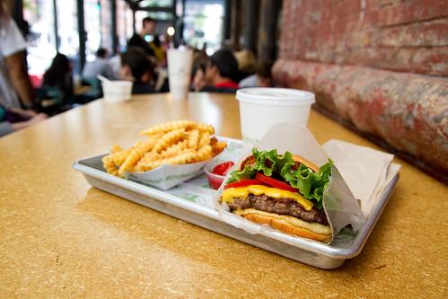 Shack Burger omg I love you
