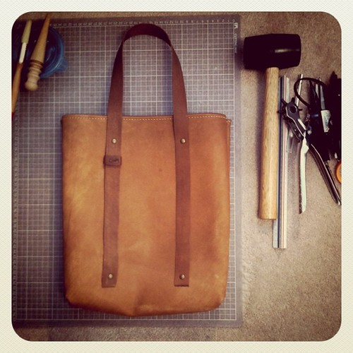 cindy kuo : Leather Tote bag pt.2